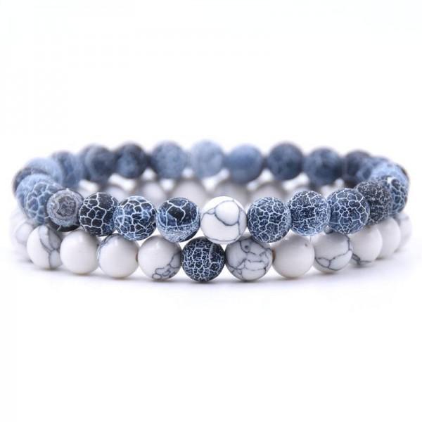 Distance Bracelets - Blue