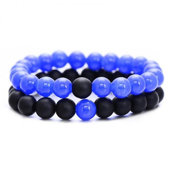 Royal Blue Distance Bracelets
