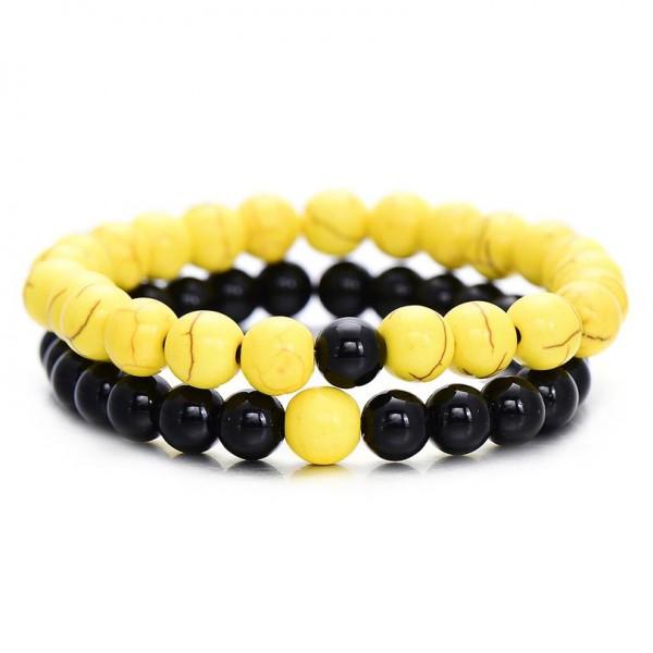 Yellow Distance Bracelets
