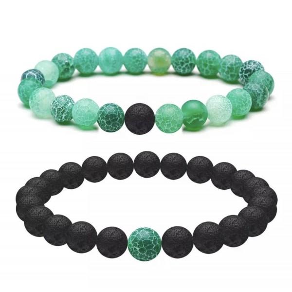 Spring Green Distance Bracelets