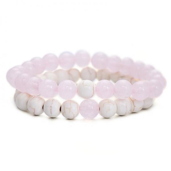 Pastel Pink Distance Bracelets