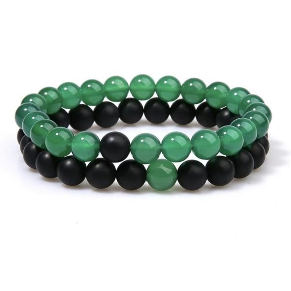 Emerald Distance Bracelets