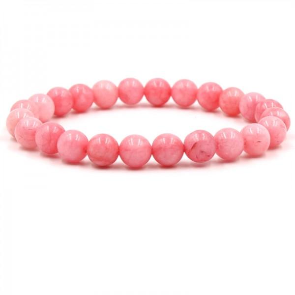 Beautiful Rose Crystal Elastic Bracelet