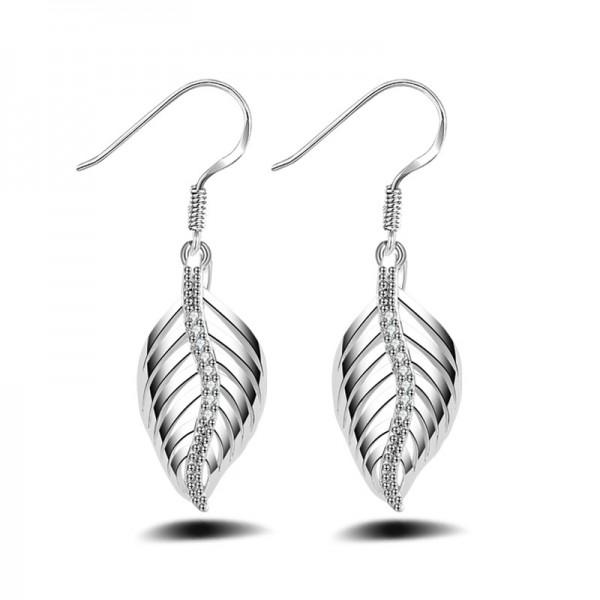 Classic Small S925 Sterling Silver Angel Wings Stud Earrings