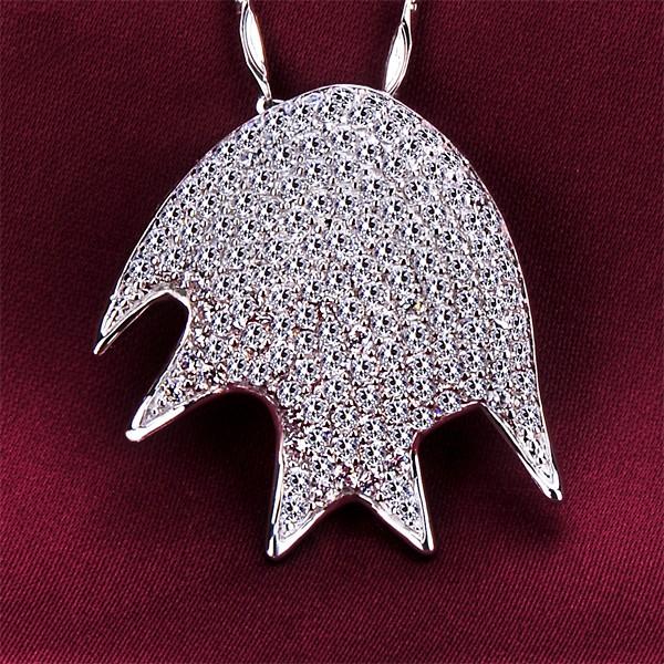 Crown 1.0 Carat ESCVD Diamonds Fashionable Women Necklaces Gift Necklaces