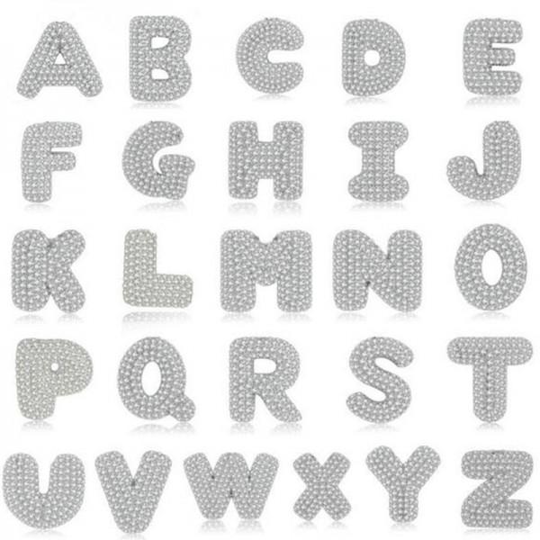 Alphabet A-Z 26 Letter 925 Sterling Silver Cubic Zirconia Pendant Necklace for Women Girls Men Boys 18 Inch