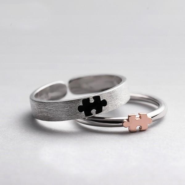 Original Design Forever Love Simple Lovers Ring