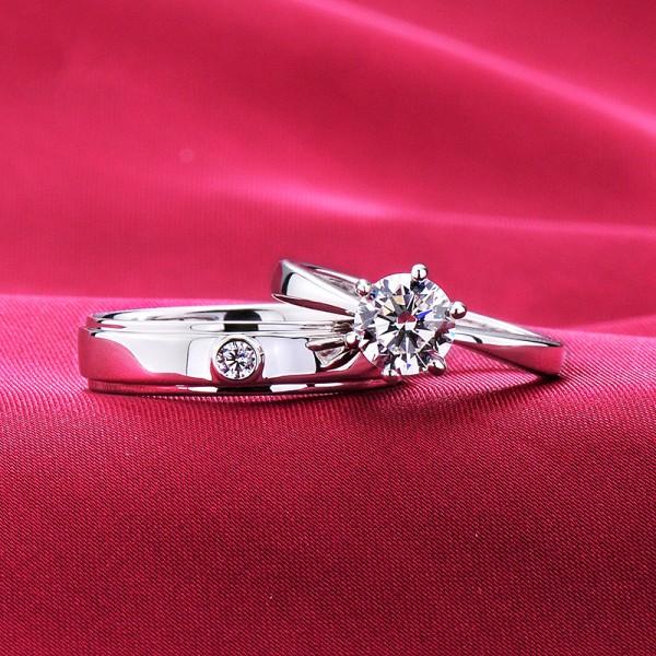 Everlasting Love ESCVD Diamonds Lovers Rings Wedding Rings Couple Rings