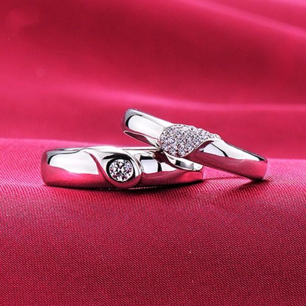 Witness Of Love ESCVD Diamonds Lovers Rings Wedding Rings Couple Rings