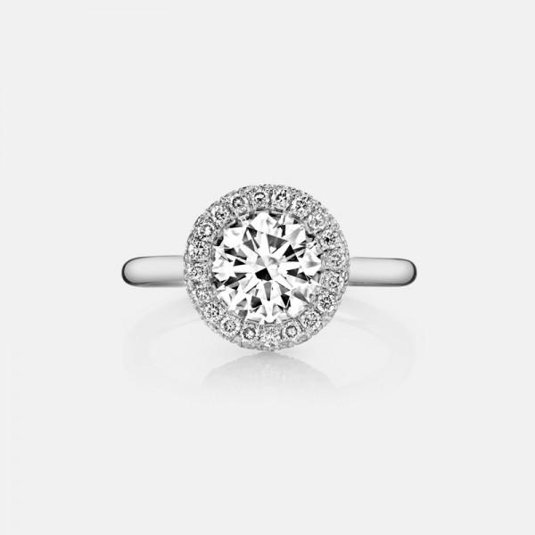 High Grade Korean Fashion 925 Sterling Silver Love Wedding/Promise Ring