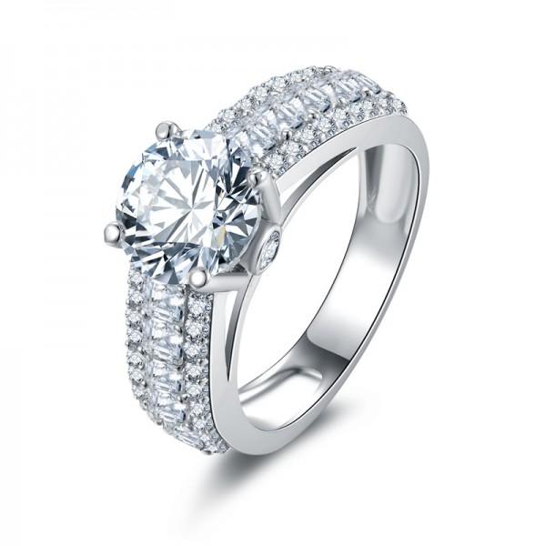 Engagement Wedding Ring Fashion Luxury Female Ring