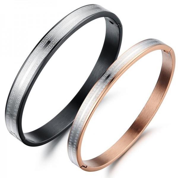 Hot Selling Titanium Steel Lovers Bracelets Popular Valentine's Day Gift