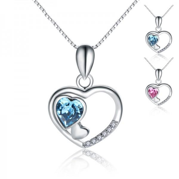 925 Silver 3A Zircon Ladies Designal Necklace Pendant