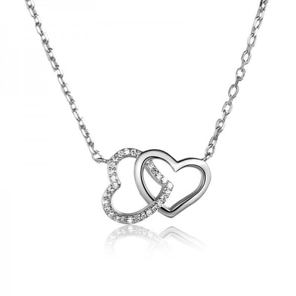 Women 925 Silver 3A Zircon Ladies Necklace Pendant